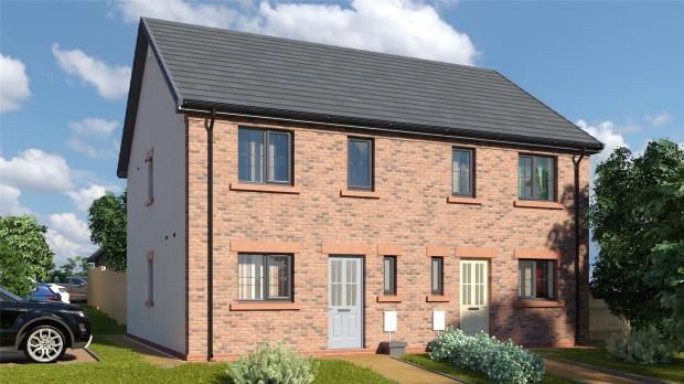 Thumbnail Semi-detached house for sale in Plot 9 The Petterill, St. Cuthberts, Wigton