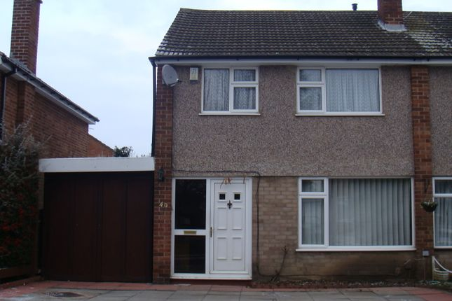 Thumbnail Semi-detached house to rent in Rushmere Walk, Leicester Forest East, Leicester