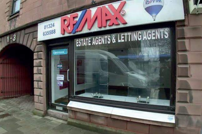 Thumbnail Retail premises to let in Newmarket Street, Falkirk