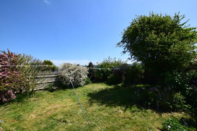 Rear Garden of Westham Drive, Pevensey Bay BN24