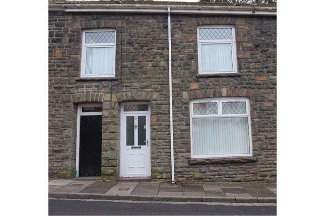 Thumbnail Terraced house for sale in Llanwonno Road, Aberdare
