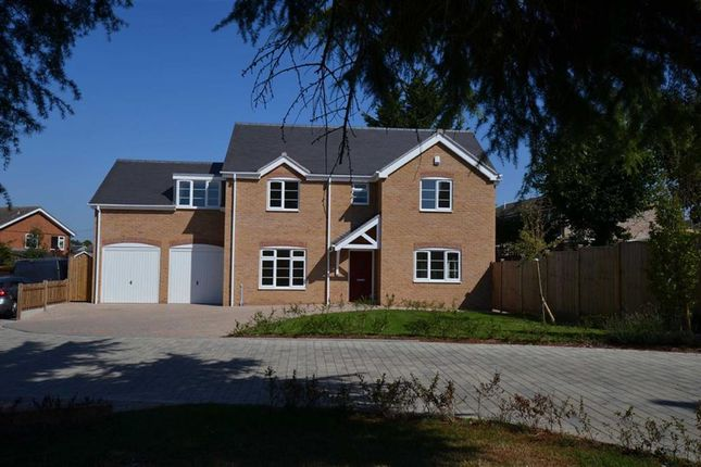 Thumbnail Detached house for sale in Ridge Gardens, Cosby, Leicester