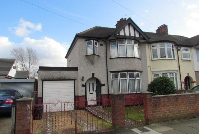 Thumbnail End terrace house for sale in Roxy Avenue, Chadwell Heath, Romford