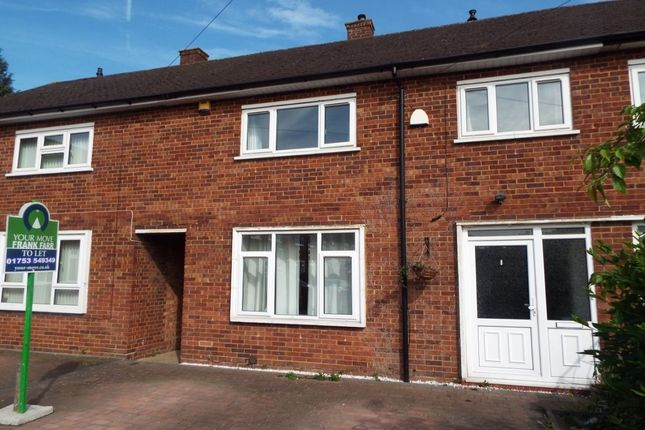 Thumbnail Terraced house to rent in Harrow Road, Langley, Slough