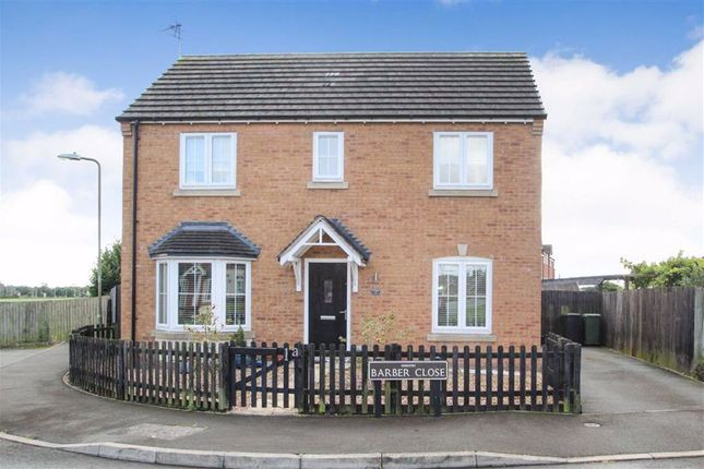 Thumbnail Detached house for sale in Barber Close, Oswestry