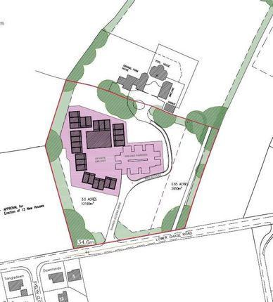 Thumbnail Land for sale in Ludwells Farm, Lower Chase Road, Waltham Chase, Southampton, Hampshire