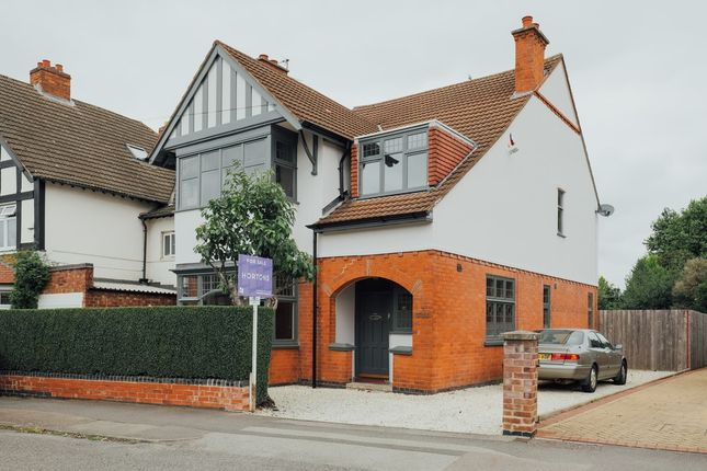 Thumbnail Detached house for sale in Stoughton Road, Leicestershire, Oadby