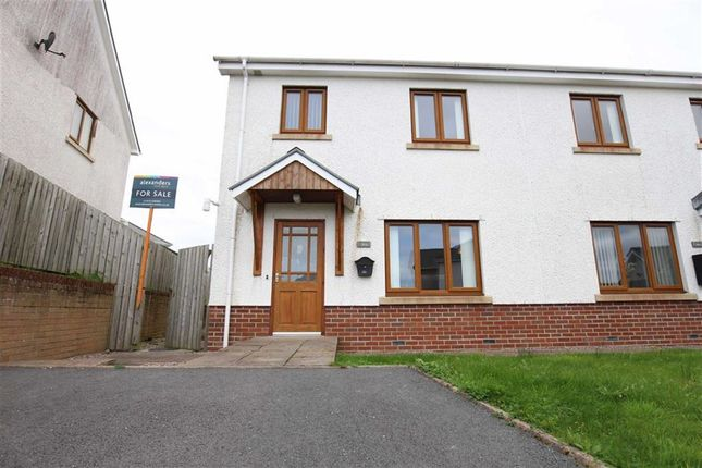 Thumbnail Semi-detached house for sale in Caer Wylan, Llanbadarn Fawr, Aberystwyth