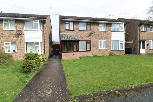 Thumbnail Semi-detached house for sale in Chestnut Close, Wymington, Rushden