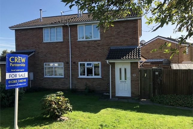 Thumbnail Maisonette to rent in Knightsbridge Way, Stretton, Burton-On-Trent, Staffordshire
