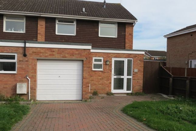 Thumbnail Semi-detached house to rent in Castle Hill Drive, Brockworth, Gloucester