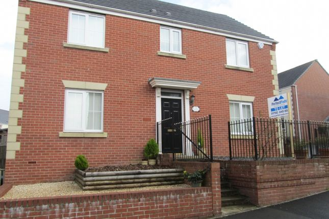 Thumbnail Detached house to rent in Clos Y Fendrod, Llansamlet, Swansea