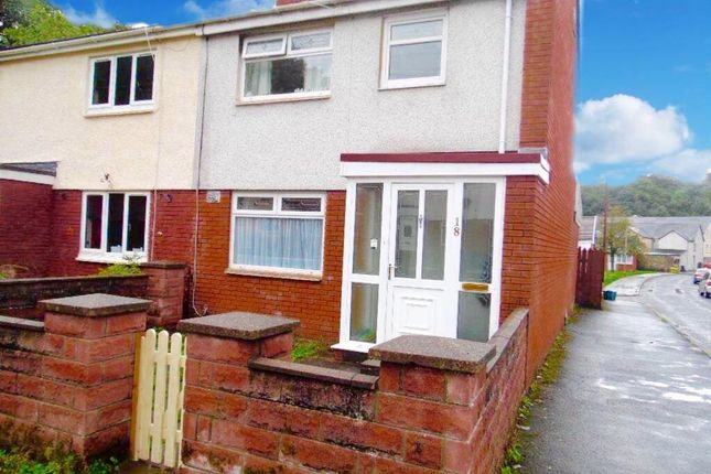 Thumbnail Semi-detached house to rent in Woodlands Avenue, Treharris