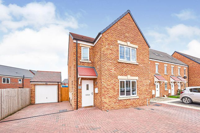 3 bed detached house for sale in Bleaberry Way, Carlisle, Cumbria CA2