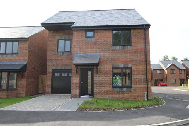 Thumbnail Detached house for sale in Marley View, Marley Hill, Newcastle Upon Tyne