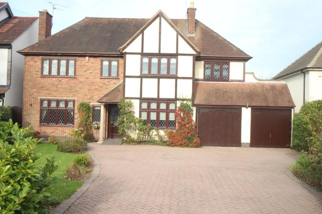 Thumbnail Detached house for sale in Sapcote Road, Burbage, Hinckley