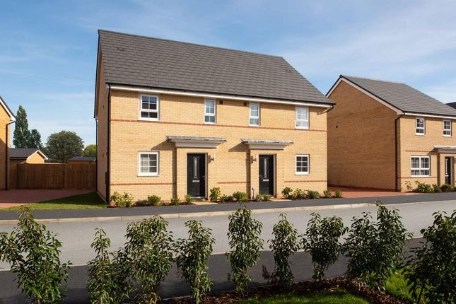 "3 bedroom semi-detached house for sale in ""Hampton"" at The Ridge, London Road, Hampton Vale, Peterborough"