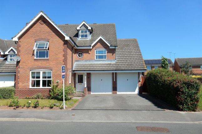 Thumbnail Detached house for sale in Blackbird Avenue, Gateford, Worksop