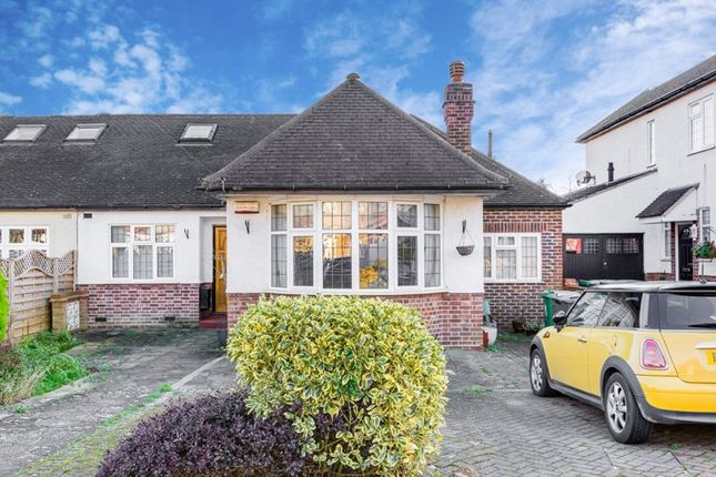 Thumbnail Semi-detached bungalow to rent in Matlock Way, New Malden