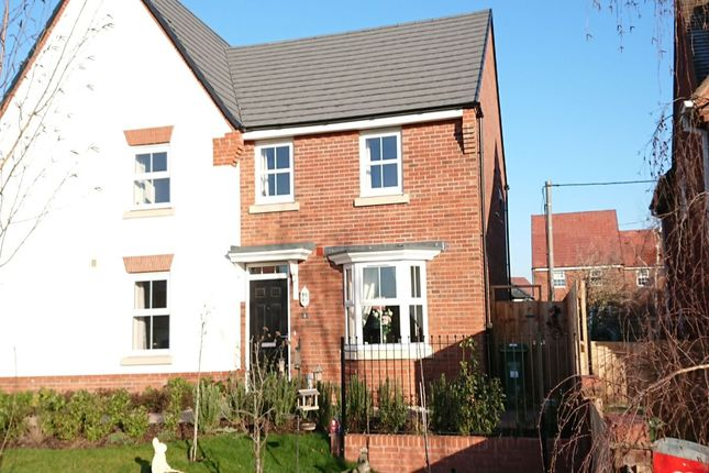 Thumbnail Semi-detached house for sale in Cedar Walk, Offenham, Evesham