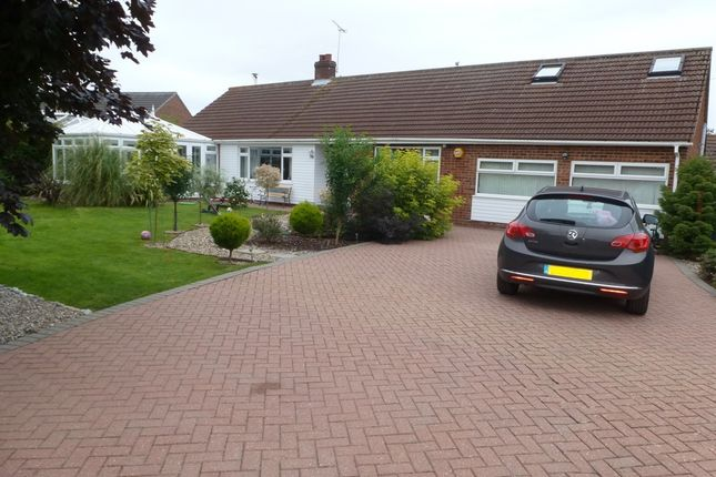 Thumbnail Detached bungalow for sale in Court Close, Rollesby, Great Yarmouth