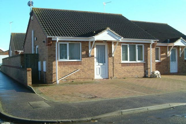 Thumbnail Semi-detached bungalow to rent in Reginald Court, Estcourt Road, Great Yarmouth