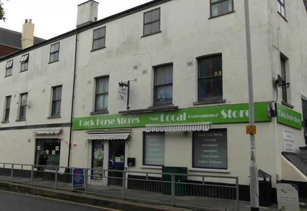 Retail premises to let in St. Davids Hill, Exeter