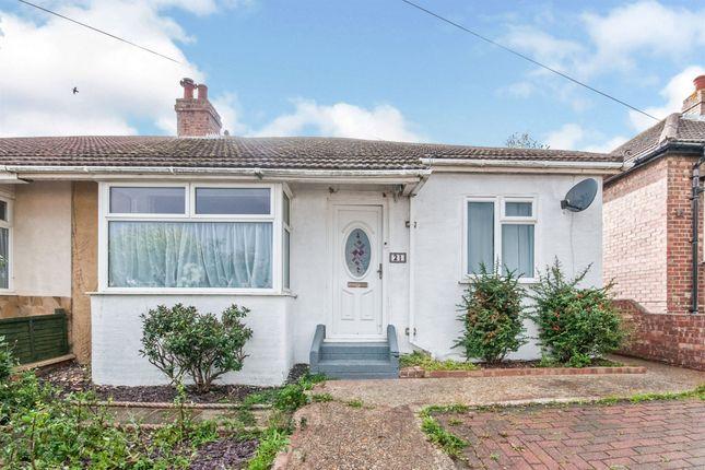 Thumbnail Semi-detached bungalow for sale in Second Avenue, Newhaven