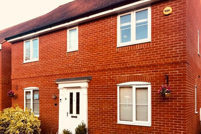 Thumbnail Detached house to rent in Roe Gardens, Three Mile Cross, Reading