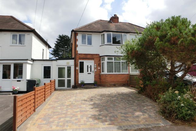 Thumbnail Semi-detached house for sale in Three Oaks Road, Wythall, Birmingham