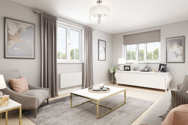 "Thumbnail Semi-detached house for sale in ""Hexham"" at Priorswood, Taunton"
