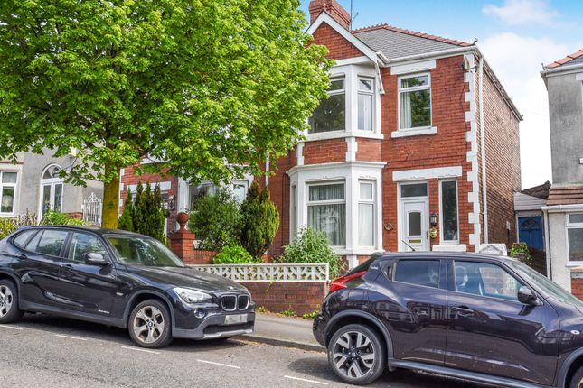 Thumbnail Semi-detached house for sale in Tynewydd Road, Barry