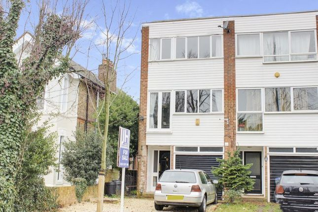 Thumbnail Town house for sale in Wellington Road, Enfield