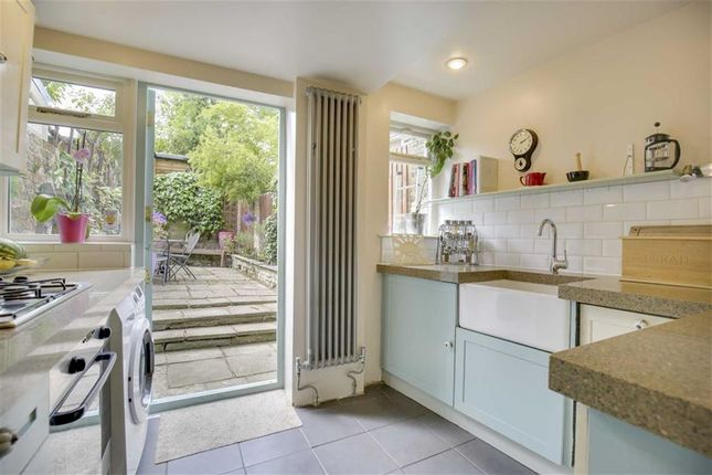 Thumbnail End terrace house for sale in Eversley Park Road, London