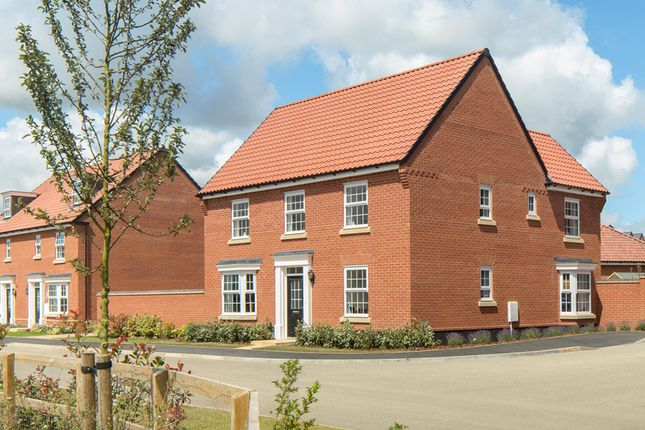 "Thumbnail Detached house for sale in ""Avondale"" at Flaxland Way, Corby"