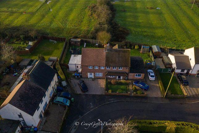 Thumbnail Semi-detached house for sale in Oak Avenue, Leire, Lutterworth