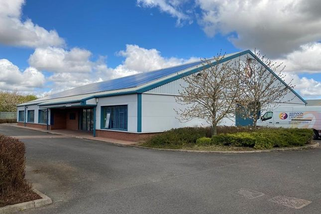 Light industrial to let in Due To Relocation, Allinson House, Lincoln Way, Louth, Lincolnshire