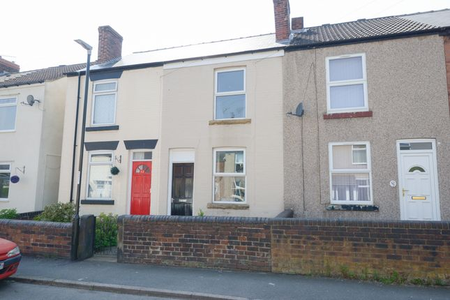 Thumbnail Terraced house for sale in Wellington Street, New Whittington, Chesterfield