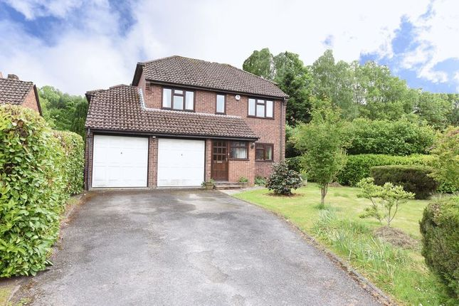 Thumbnail Detached house for sale in Beaurepaire Close, Bramley, Tadley