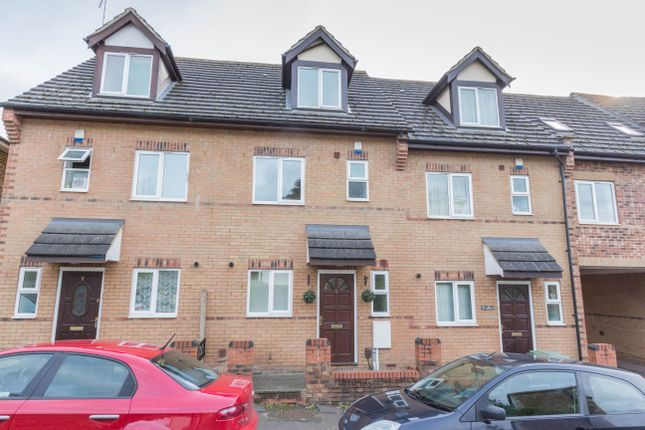 3 bed terraced house for sale in The Turrets, Thorpe Street, Raunds, Wellingborough
