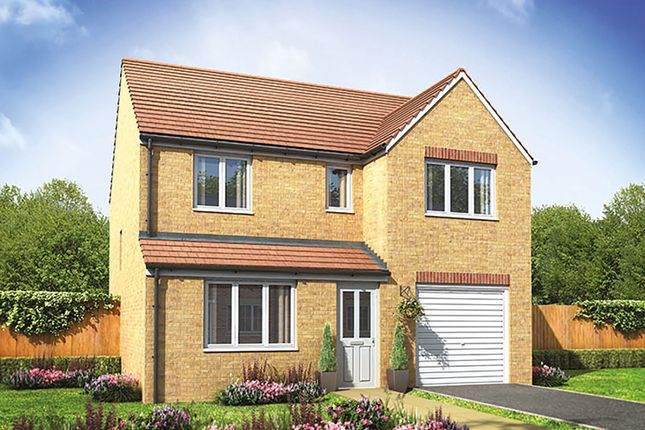 """Thumbnail Detached house for sale in """"The Longthorpe"""" at Ixworth Road, Thurston, Bury St. Edmunds"""