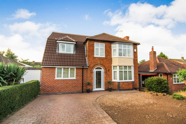 Thumbnail Detached house for sale in Rolleston Drive, Arnold, Nottingham