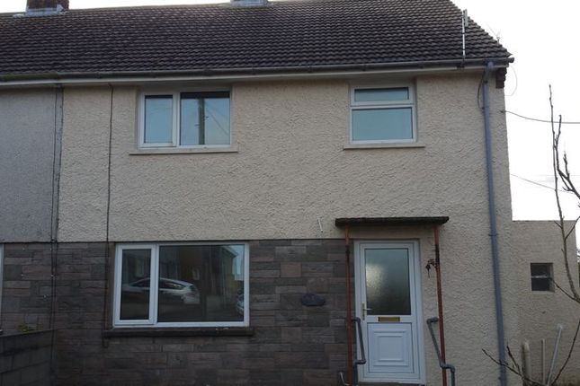 Thumbnail Semi-detached house to rent in Wesley Place, Trecwn, Haverfordwest