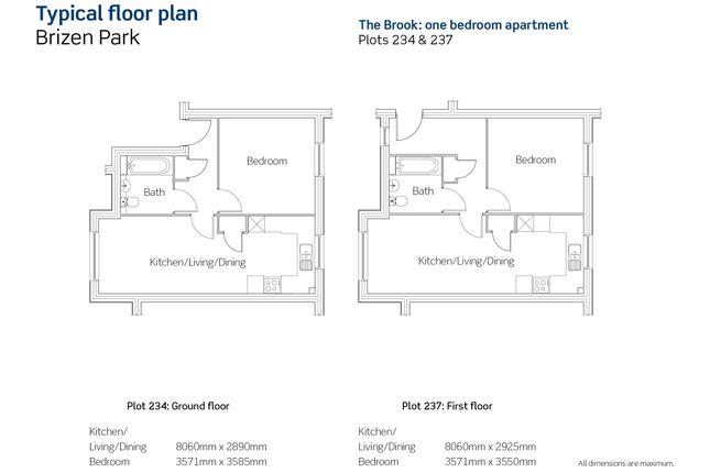 1 bedroom flat for sale in Honeysuckle Avenue, Leckhampton