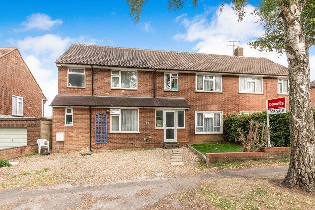 Thumbnail End terrace house for sale in Bowershott, Letchworth Garden City