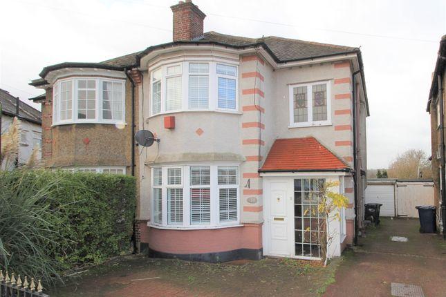 Thumbnail Semi-detached house for sale in Walfield Avenue, London