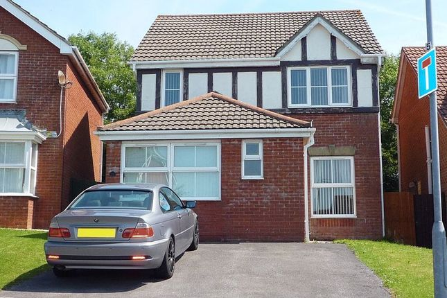 Thumbnail Detached house for sale in Glas Y Llwyn, Barry