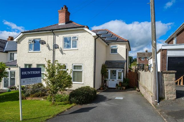 Thumbnail Semi-detached house for sale in Oxford Road, Llandrindod Wells