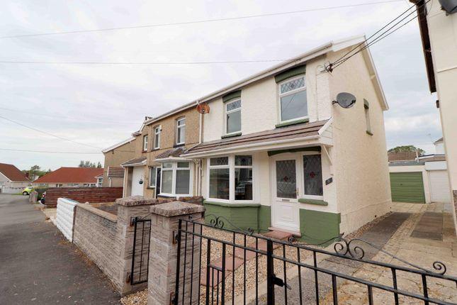 Thumbnail Semi-detached house for sale in St. Pauls Terrace, Garden Village, Swansea, Abertawe