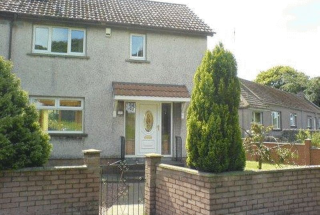 Thumbnail End terrace house to rent in Whitehall Crescent, Lochgelly
